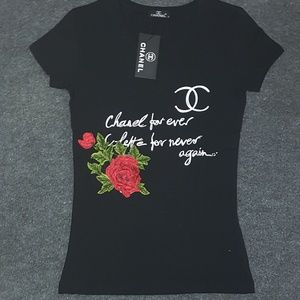 chanel women tee